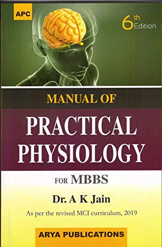 Manual of Practical Physiology By A K JAIN