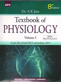 Ak Jain Physiology for MBBS 2 Volume Set With Free QA