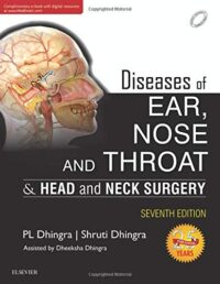 ENT Dhingra New Edition   Diseases of Ear, Nose and Throat