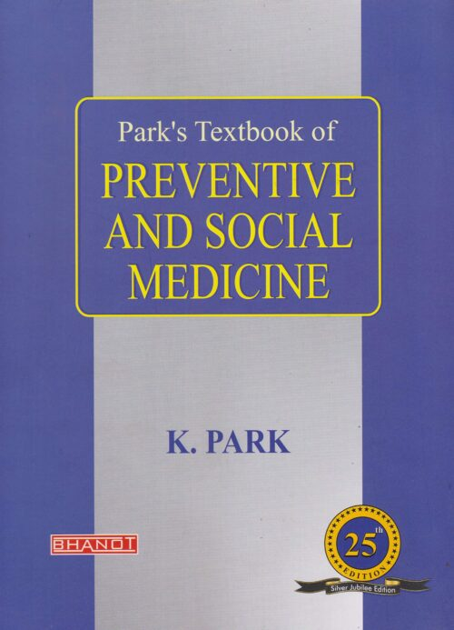 Park Textbook of Preventive and Social Medicine 25th Edition 2020