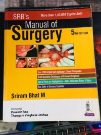 Second Hand Srb Manual of Surgery