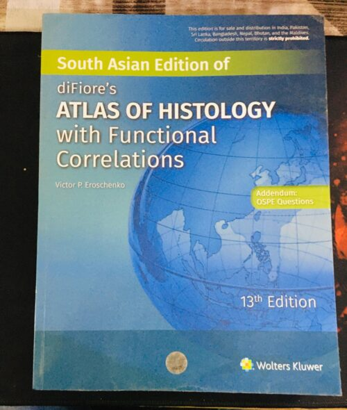 Second Hand Difiore Atlas Of Histology With Functional Correlations