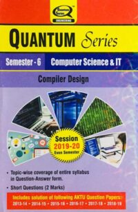 Quantum Series Compiler Design BTech 6th Sem Computer Science And IT