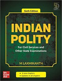 Indian Polity by Laxmikant 6th Edition Latest | Indian Polity for UPSC | UPSC Books – Indian Polity for IAS Prelims 2020 Exams | Cash On Delivery Available |