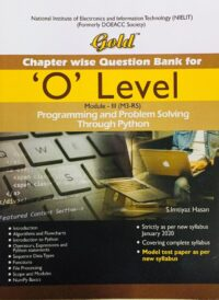 Gold O Level Programming and Problem Solved in English