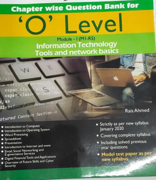 Gold O Level Information Technology Tools And Network Basis Solved in English