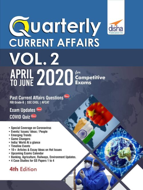 DISHA Quarterly Current Affairs 2020 Vol 2 – April to June for Competitive Exams