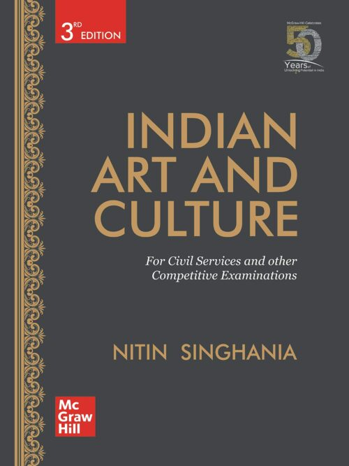 Indian Art and Culture Nitin Singhania for Civil Services 2020 Latest Edition