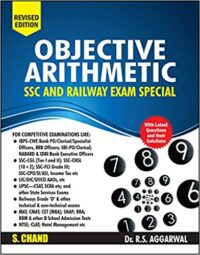 S.Chand Objective Arithmetic (SSC and Railway) Dr.R.S.AGGARWAL