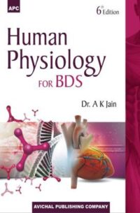 Human Physiology for BDS By A K Jain 6th Edition