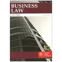 Business Law by Avtar Singh 10th Edition