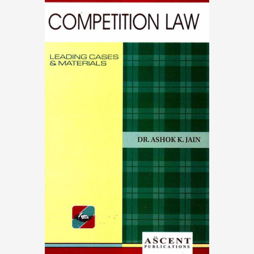 Competition Law by Ashok K Jain