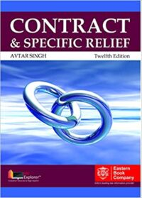 Contract and Specific Relief 12th Ed Avtar Singh
