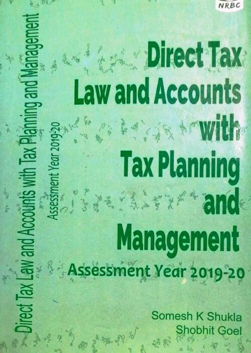 Direct Tax Law and Account with Tax Planning and Management