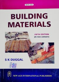 Building Materials 5th Ed by S K Duggal