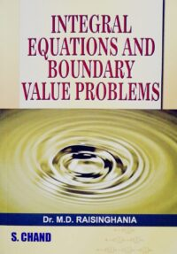 Integral Equations and Boundary Value Problems