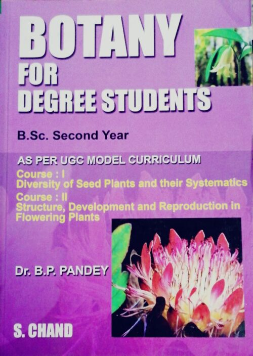 Botany for Degree Students by B P PandeyB.Sc 2nd Year