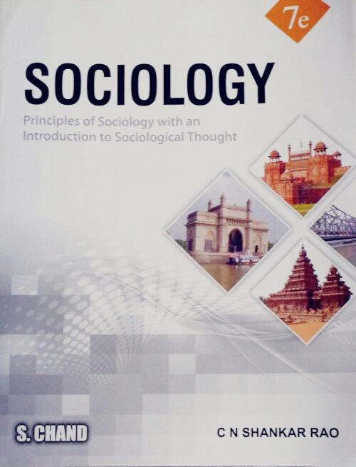 Sociology-Principles of Sociology with an Introduction to Social Thoughts