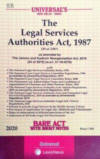 Bare Act The Legal Services Authorities Act 1987