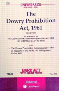 Bare Act The Dowry Prohibition Act 1961