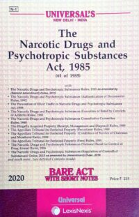 Bare Act The Narcotic Drugs and Psychotropic Substance Act 1985