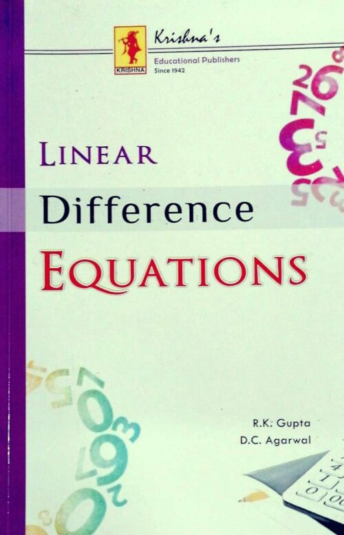 Linear Difference Equations by R K Gupta