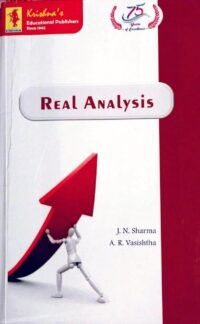 Real Analysis by J N Sharma