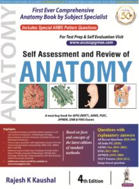 Review of Anatomy by Rajesh Kaushal 4th Edition