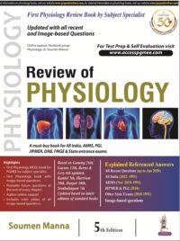 Review of Physiology by Soumen Manna 5th Edition | Latest Edition