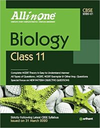 All in One Biology Class 11 CBSE 2020-21