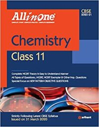 All in One Chemistry Class 11 CBSE 2020-21