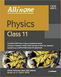 All in One Physics Class 11 CBSE 2020-21