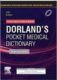 Dorland's Pocket Medical Dictionary 30th Ed