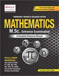 Mathematics M Sc Entrance Examination Suraj Singh