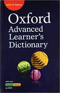 Oxford Advanced Learners Dictionary 9th Ed