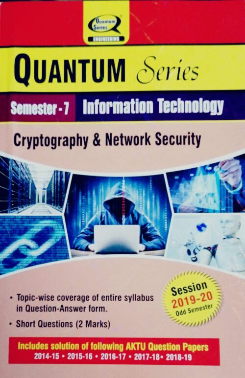 Quantum Series Cryptography and Network Security Semester 7