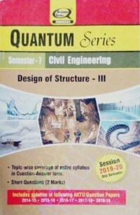 Quantum Series Design of Structure lll Semester 7