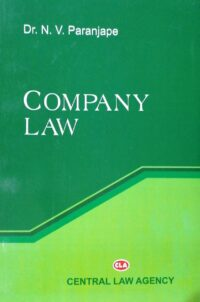 Company Law by Dr N V Paranjape