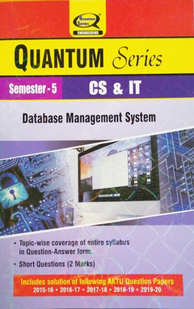Quantum Series Database Management System Sem 5