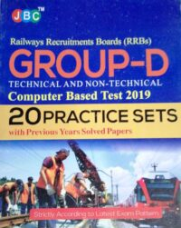 20 Practise Sets RRBs Group D Technical and Non Technical