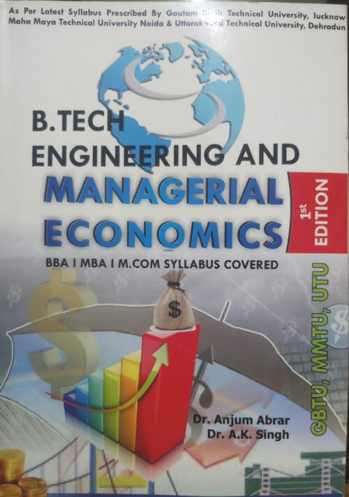 B Tech Engineering And Managerial Economics