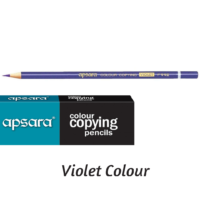 Apsara Copying Pencils Violet Pack of 10 HE Pencils