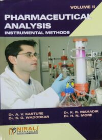 Pharmaceutical Analysis Vol 2 By Nirali Prakashan
