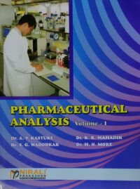 Pharmaceutical Analysis Vol 1 By Nirali Prakashan