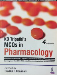 MCQs In Pharmacology By KD Tripathi