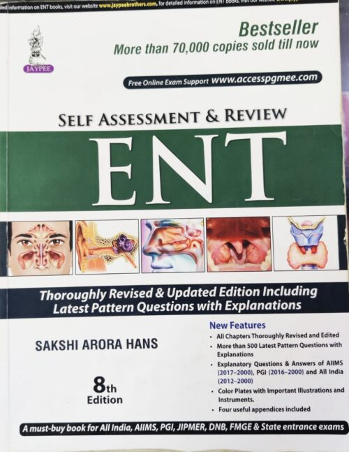 Self Assessment And Review Of ENT 8th Edition
