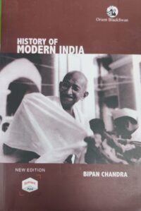 History of Modern India by Bipin Chandra 2020 Edition