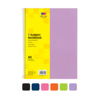 A4 Spiral Notebook 1 Subject | Brand Sona