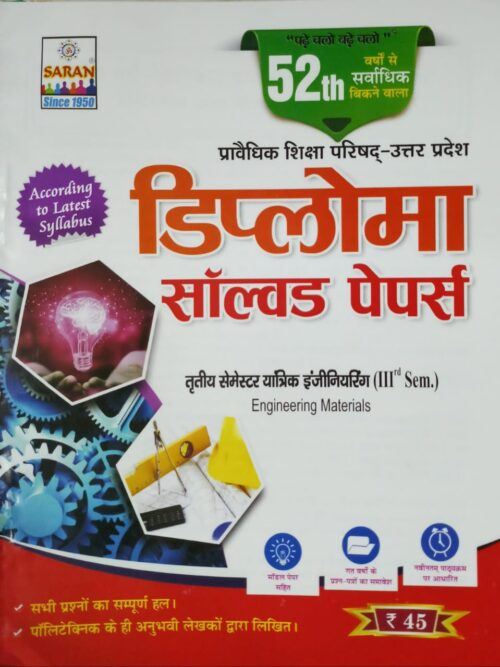 Solved Papers Engineering Materials 3rd Semester