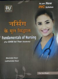 Nursing Ke Mool Sidhaant For GNM 1st Year